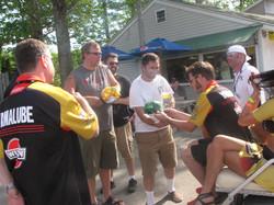 Dane meeting/greeting Fans, 2014
