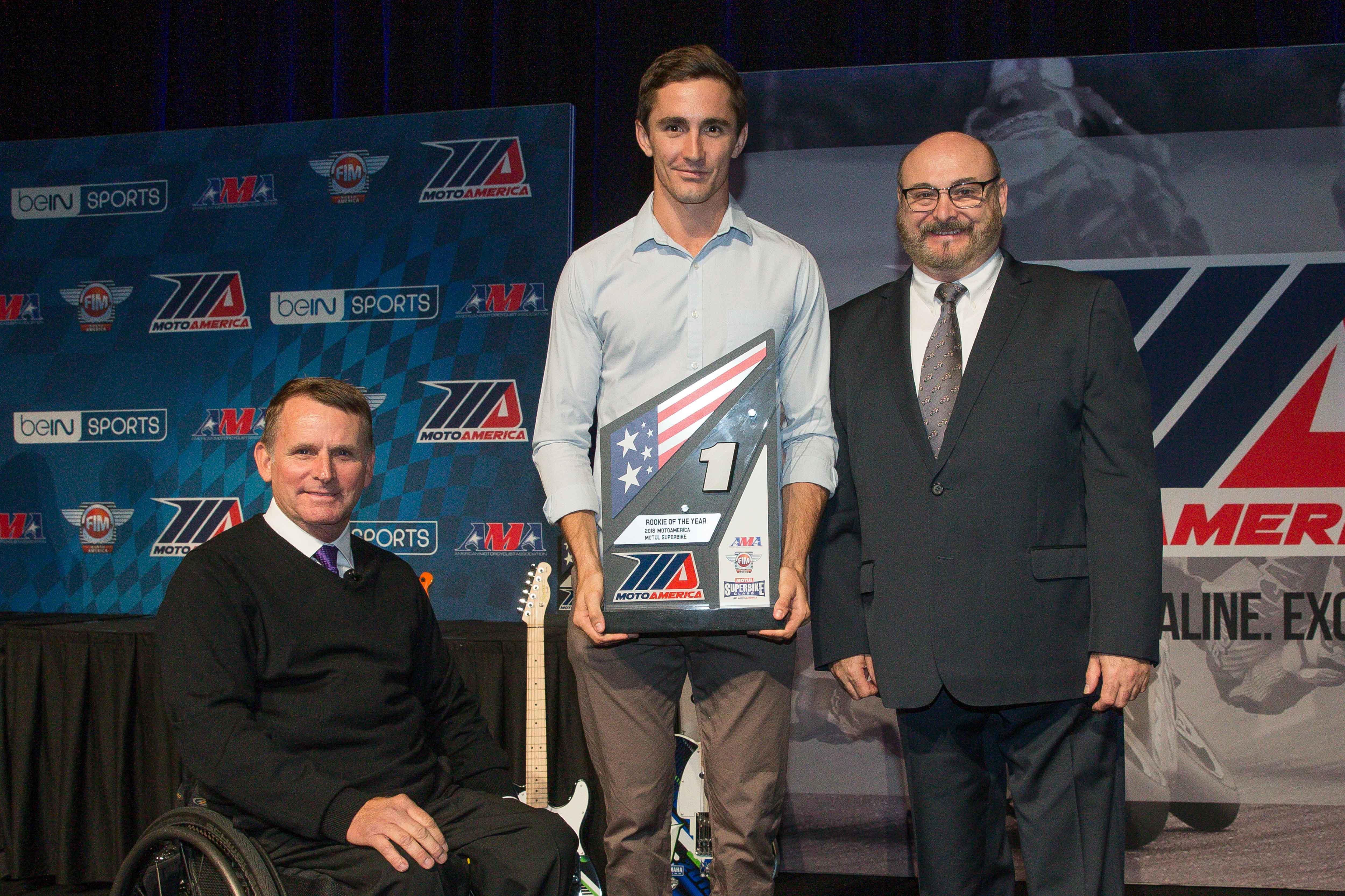 Mat Scholtz is SBK Rookie of Year