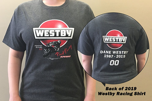 2019 Westby Racing Shirts