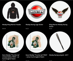 Westby Racing Team Store Screenshot II
