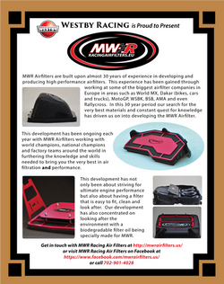 MWR Racing Air Filters