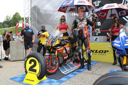 A One And A Two For Superbike Championship Leader Scholtz At Michelin Raceway Road Atlanta