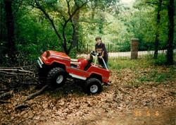 Dane and Scarlett - Jeep