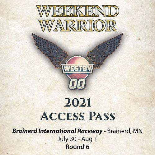 2021 Weekend Warrior Access Pass - Brainerd