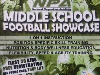 Football Middle School Showcase