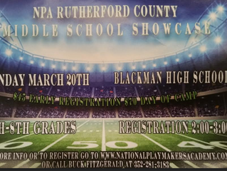 NPA Middle School Showcase