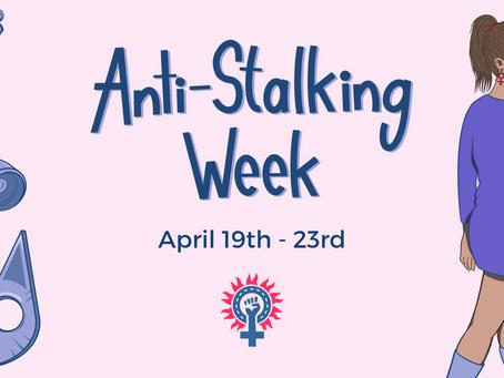 Unmasking Stalking: National Stalking Awareness Week 19th - 23rd April 2021