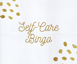 Self-care Bingo  Crop