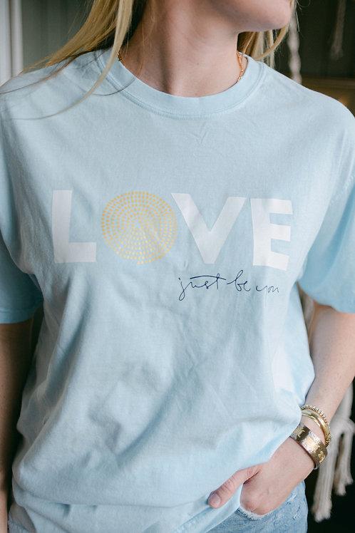 LOVE T-Shirt: Chambray