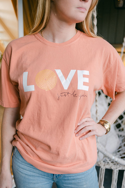 LOVE T-Shirt: Terracotta