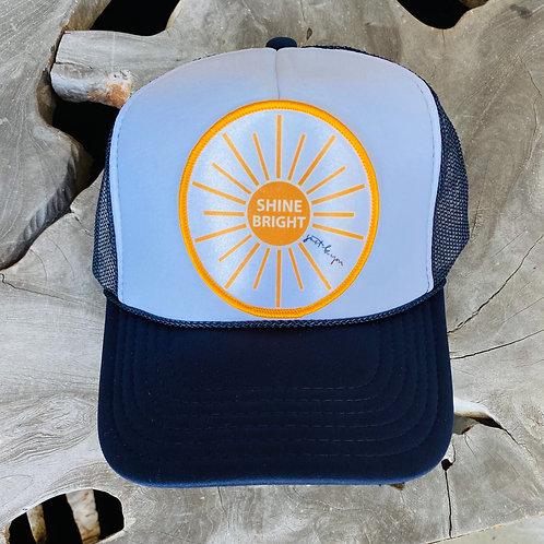 Shine Bright Hat: Navy