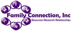 Family Connection, Inc. Resources - Research - Relationships Logo
