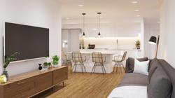Rendering :: Basement Living Area