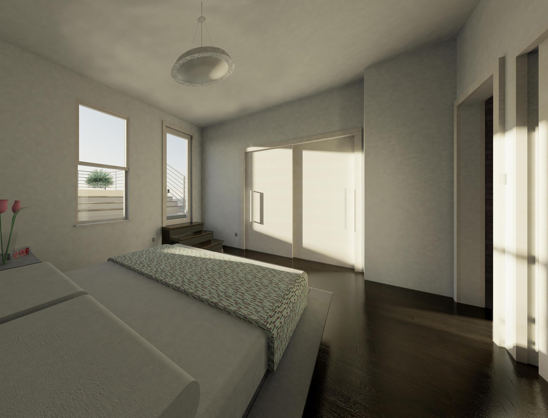 Rendering :: Upper Unit Bedroom