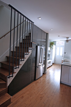 Photo : Renovated Stair & New Pantry