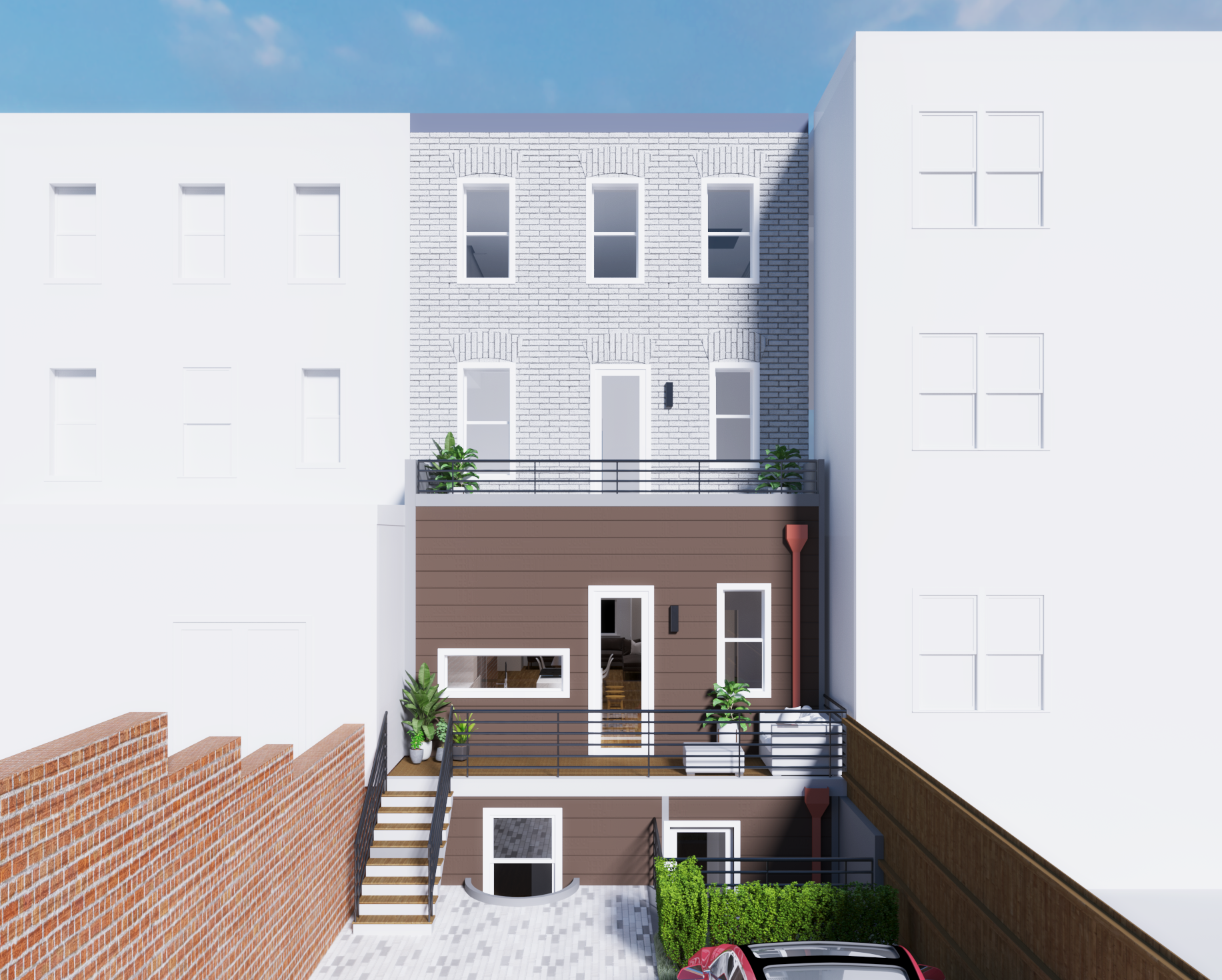 Rendering :: Rear Yard Addition