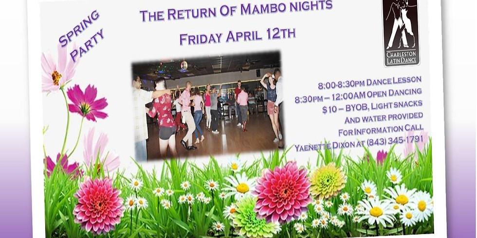 Return of Mambo Nights - Latin Dance Night's Spring Party