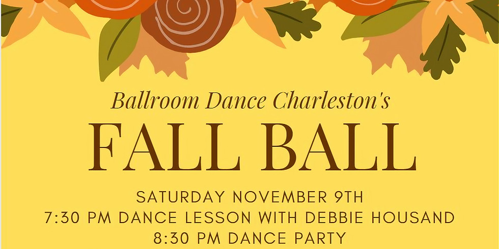 Fall Ball - Saturday Ballroom Dance Party