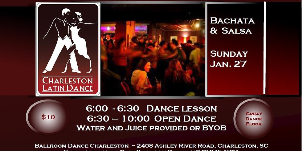 Bachata/Salsa Sunday Social - Presented by Charleston Latin Dance