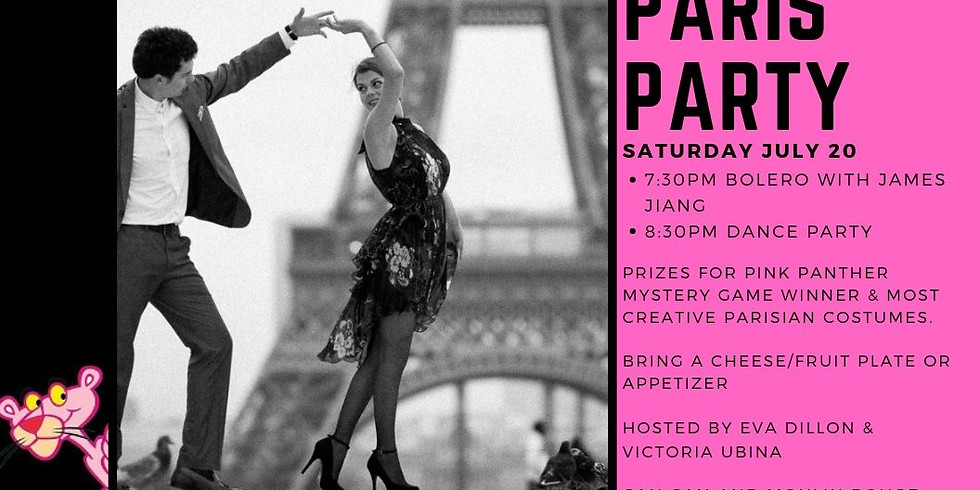Pink Panther Paris Party