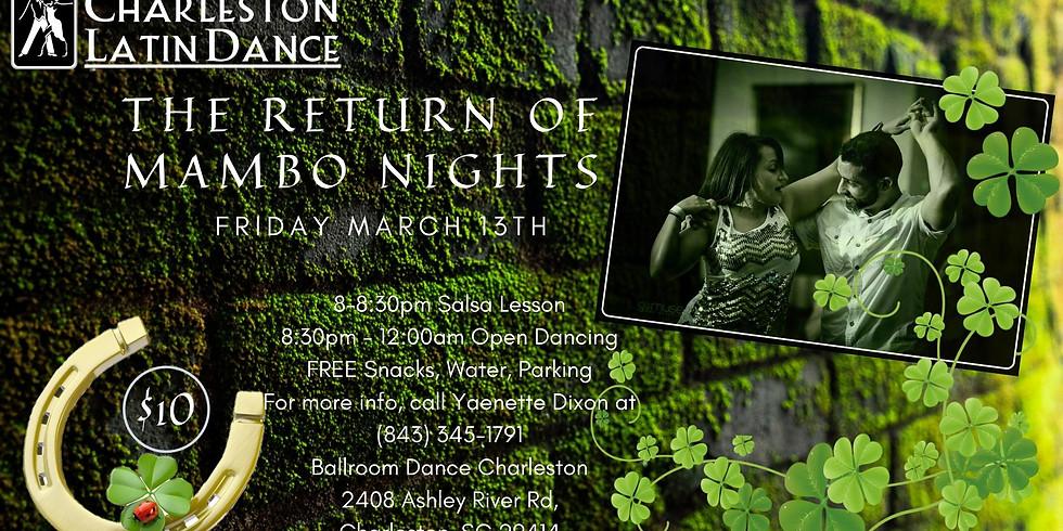 Return of Mambo Nights  -  St Patrick's Day Green Party - Latin Dance Night