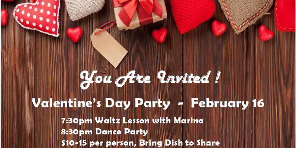Valentine Dance Party