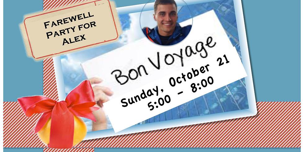 Bon Voyage Party for Alex