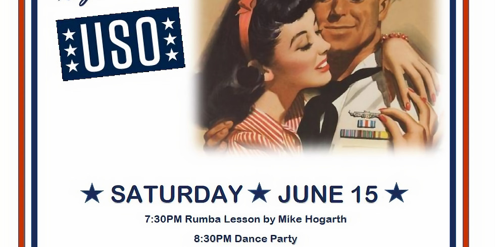 USO Ballroom Party