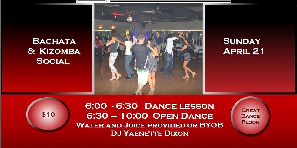 Bachata/Kizomba Sunday Social - Presented by Charleston Latin Dance