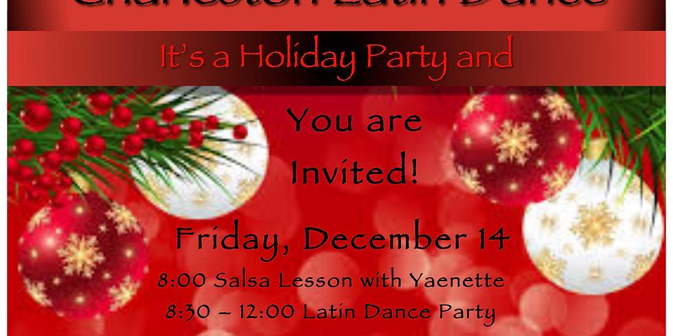Friday Latin Holiday Party