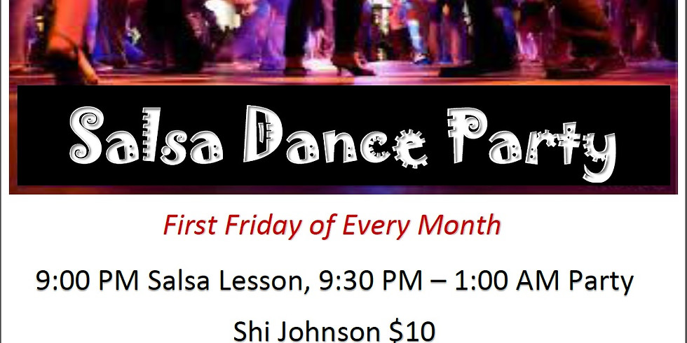 First Friday Salsa Dance Party