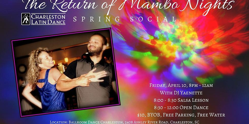 Return of Mambo Nights  -  Spring/Yellow Theme Party - Latin Dance Night