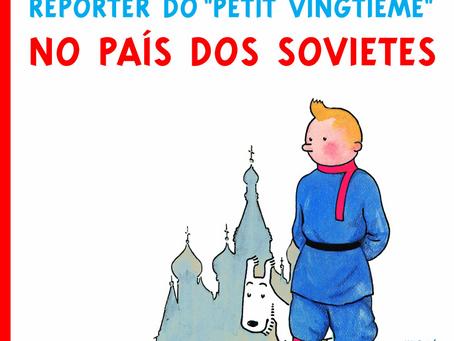 TINTIM NO PAÍS DOS SOVIETES, de Hergé