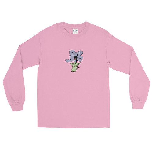 Singing Flower Men's Long Sleeve Shirt