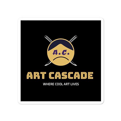 A.C. Bubble-free stickers