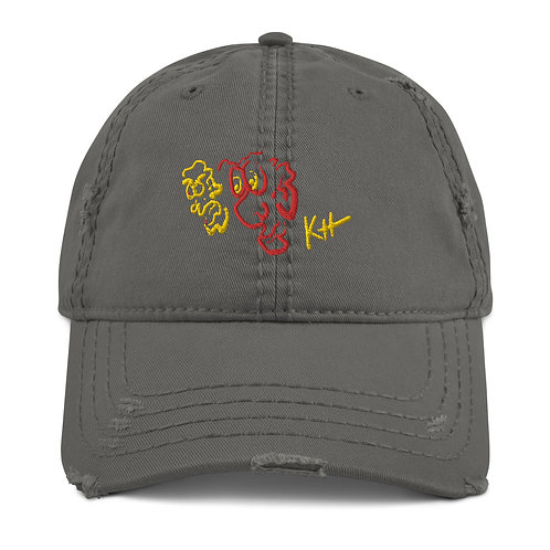 KH Distressed Dad Hat