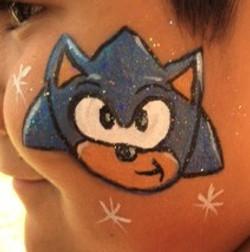 Sonic facepainting (2)