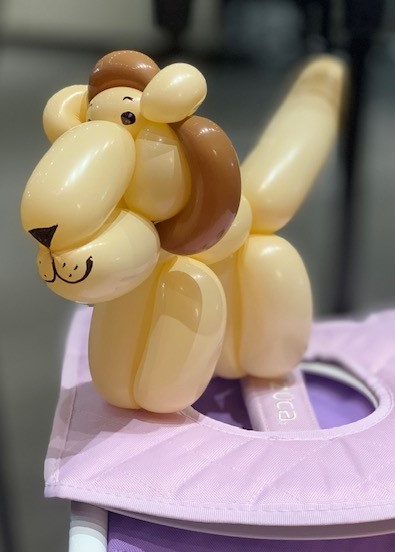 Lion balloon