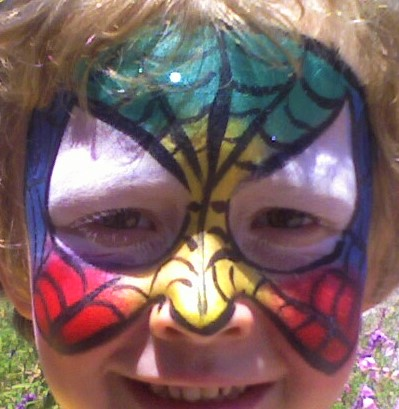 Rainbow Spiderman