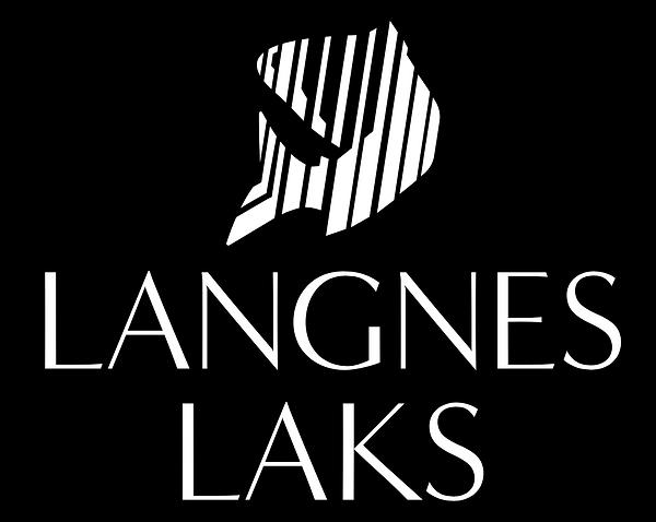 Logo Langnes Laks Vertikal
