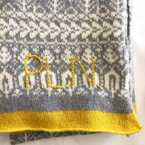 Personalise with Hand Embroidery