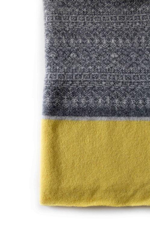Grey & Lemon Kids & Babies Blanket