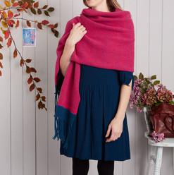 Vibrant wrap scarf