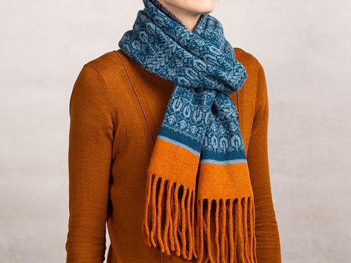 Unisex Seed To Tree Collection | Tassel Scarf |