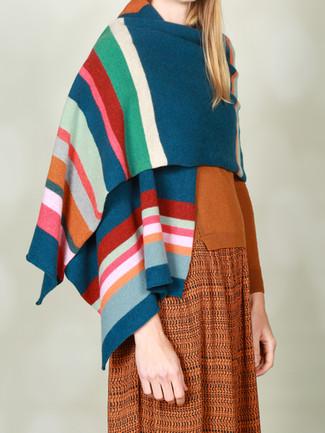 Bold stripe wrap