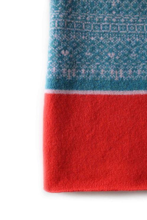 Blue & Coral Kids & Babies Blanket