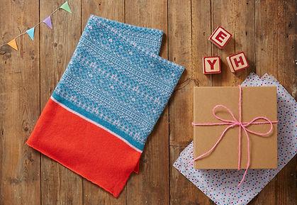 kids scarf, babies blankets, personalised nursery cushion
