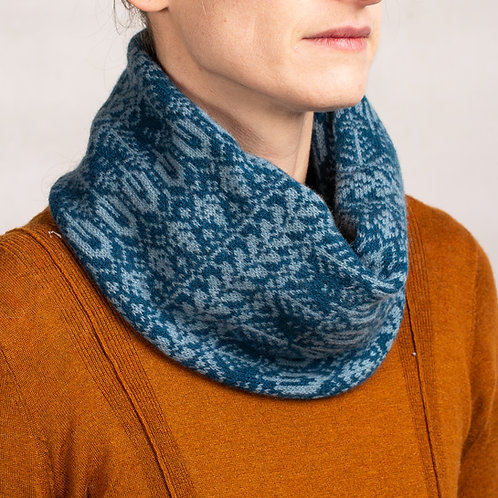Unisex Seed To Tree | Snood | Cowl Neck Scarf