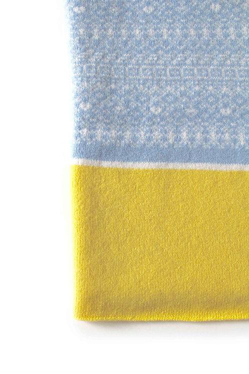 Blue & Lemon Kids & Babies Blanket