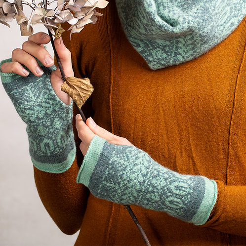 Seed To Tree Collection | Fingerless Mittens |